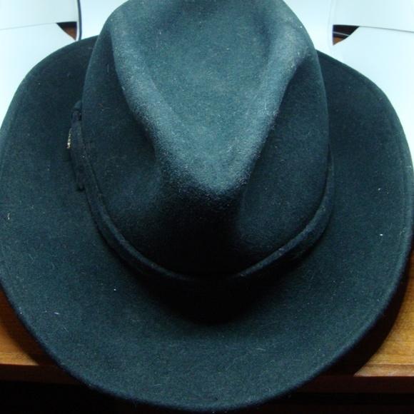 50ac88167 Dorfman Pacific 100% Wool Felt Green Vintage Hat